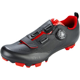 Fizik Terra X5 MTB Schoenen Heren, black/red